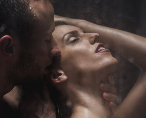 Period Sex in Shower