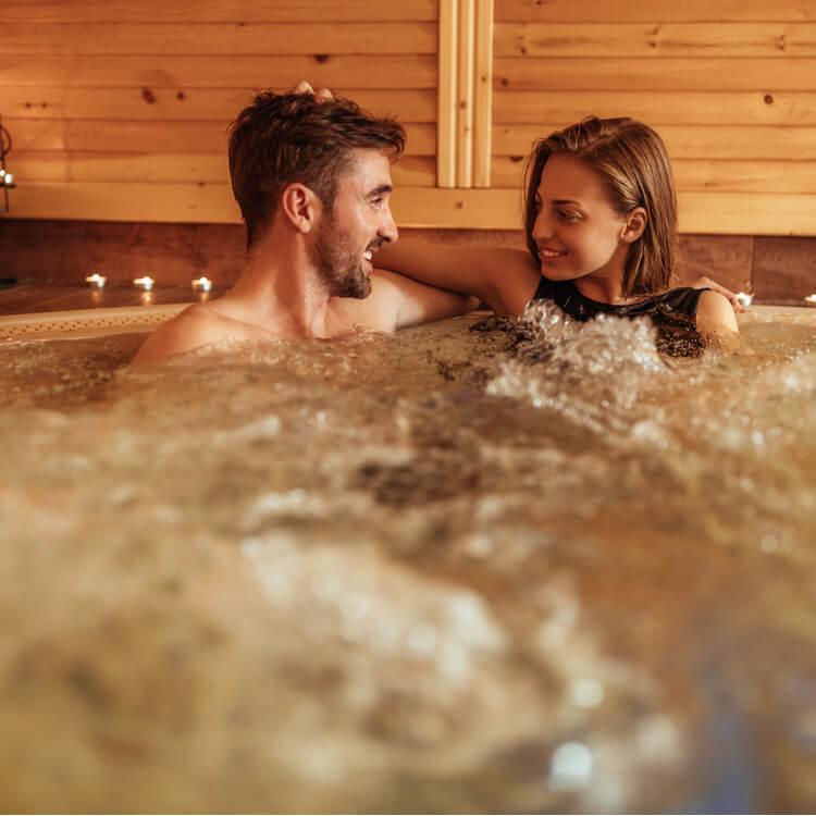 Stories hot tub sex Mom takes