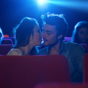 Couple Getting Sexy at Movies - MarriageHeat