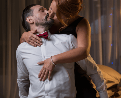 Husband and Wife celebrate sexy anniversary ~ MarriageHeat