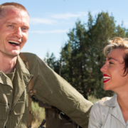 Service member and female photographer meet and fall in love in Noth Africa circa WWII